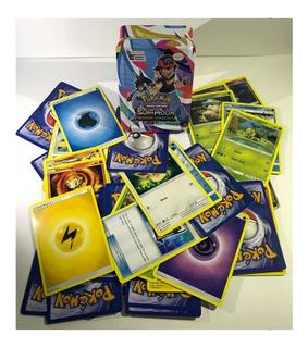 Cartas Pokemon Tcg 40unidades Empaque Metalico