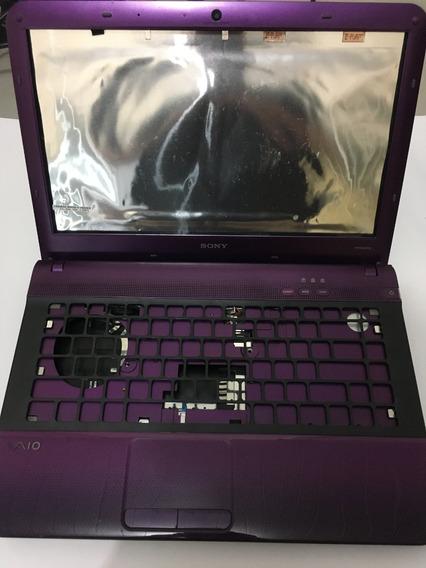 Carcaça Completa Notebook Sony Pcg-61317l - Usado