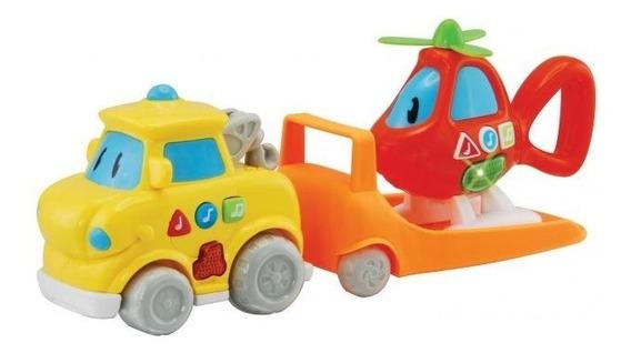 Brinquedos Bebês Helio E Gui Ao Resgate Veloz Musical Dican