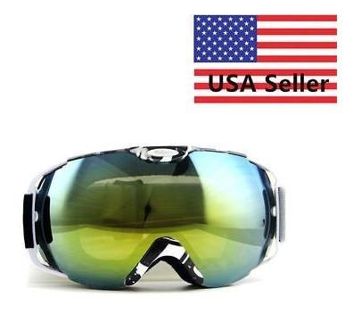 Snowboard Nieve Esquí Profesional Gafas Gafas Anti Niebla Uv