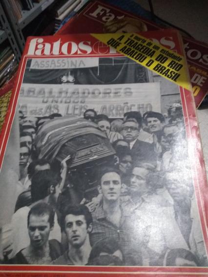 Revista Fatos E Fotos Nº 375 - 1968