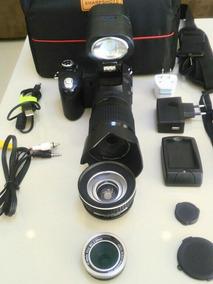 Camera Profissional Polo D7200 Kit Youtuber