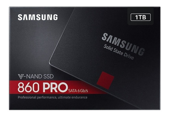 Ssd Samsung 860 Pro Series 1tb Sata Iii 3d Nand Lacrado