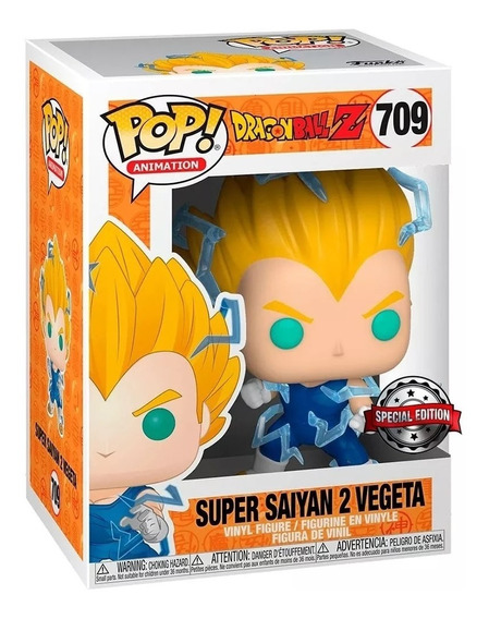 Funko Pop Animation Dragon Ball Z 709 Super Sayan 2 Vegeta!!