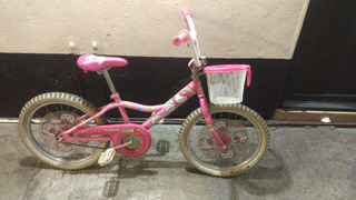 Bicicleta Hello Kitty Rodada 20