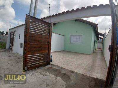 Entrada R$ 33.000,00 + Saldo Super Facilitado, Use Seu Fgts, Casa Com 2 Dormitórios, 60 M² - Jardim Magalhães - Itanhaém/sp - Ca3420
