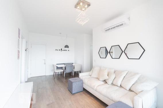 Apartamento No 25º Andar Mobiliado Com 2 Dormitórios E 2 Garagens - Id: 892970522 - 270522