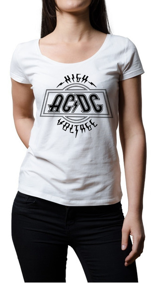 Remera Mujer Rock Ac/dc High Voltage | B-side Tees