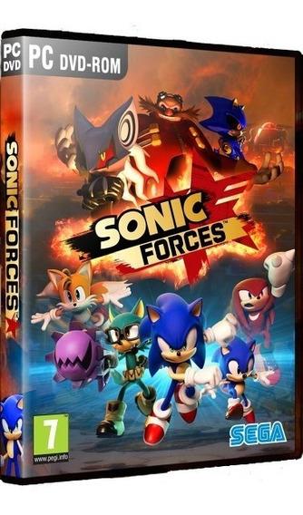 Sonic Forces Pc Dvd Mídia Física Frete 8,00 Reais