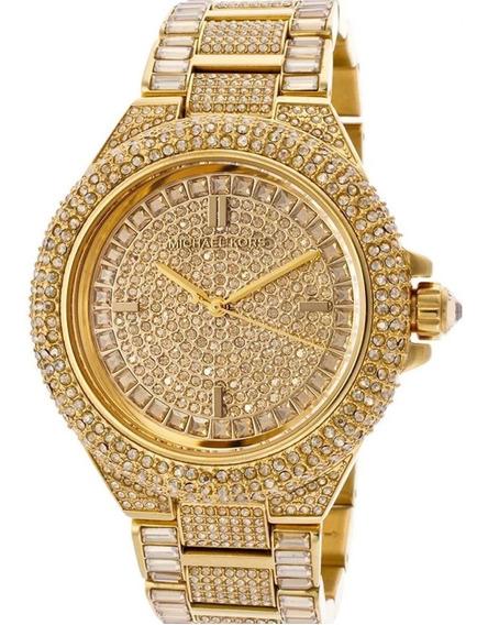 Relógio Dx2869 Michael Kors Mk5720 Ouro Brilhante
