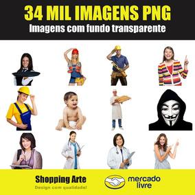 Pacote De Imagens Png - 34 Mil Imagens Sem Fundo
