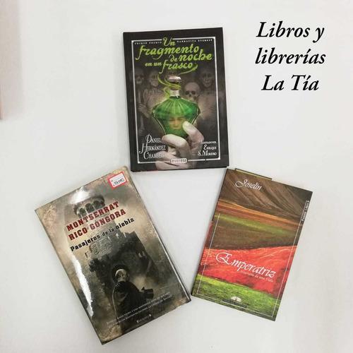 Imagen 1 de 3 de Libros Súper Combo Trío: Poesía+ Terror+suspenso