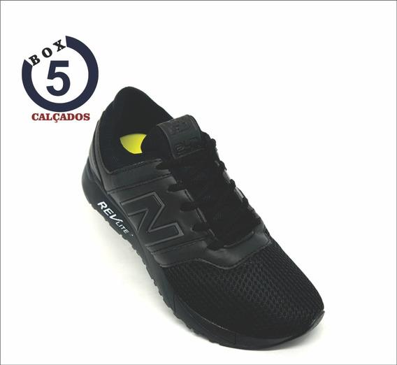 Tênis New Balance 247 Revlite Preto/branco