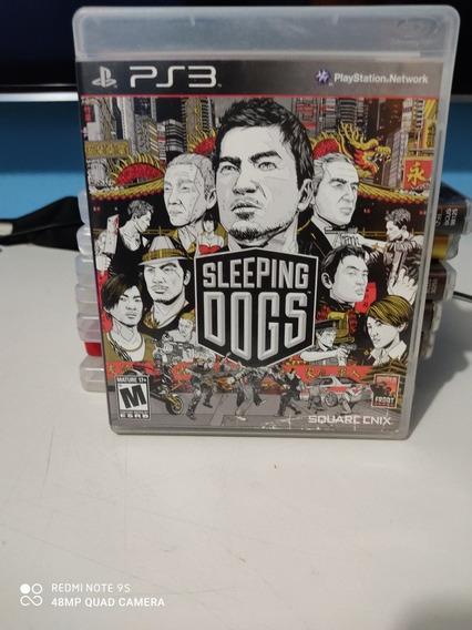 Jogo Sleeping Dogs Para Ps3