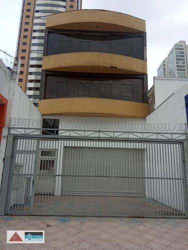 Salão Para Alugar, 280 M² Por R$ 15.000,00/mês - Tatuapé - São Paulo/sp - Sl0211