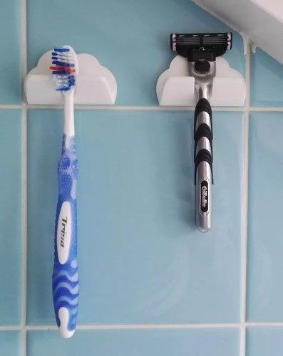 Suporte Escova Aparelho De Barbear Gillette Unid