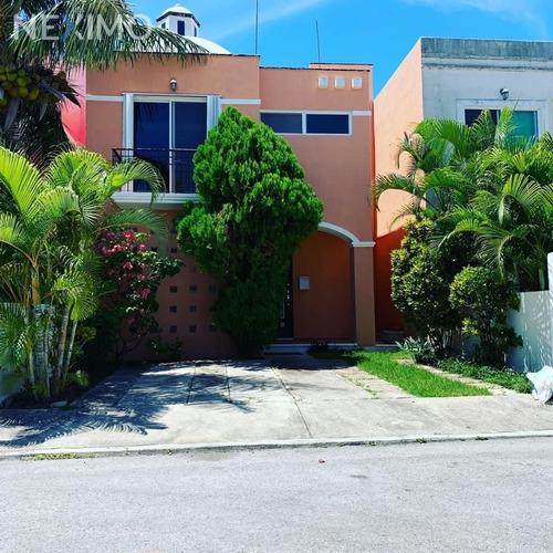 Imagen 1 de 9 de Casa En Renta En Residencial Cantabria En Cancun