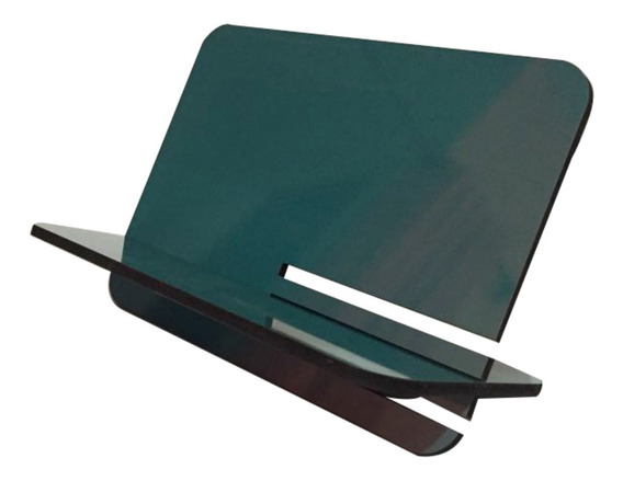 Suporte Universal Tablet iPad Cor Turquesa Mdf