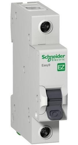 Disjuntor Easy9 1p 50a Curva C - 3000a; Schneider  Ez9f33150