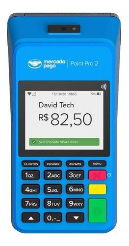 Imagem 1 de 5 de Máquina Point Pro 3g Máquina Cartão Do Mercado Pago Bobina