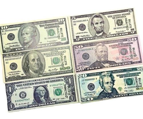 Dolar Didactico 50 Unidades * 10 Paquetes (500 Unidades)