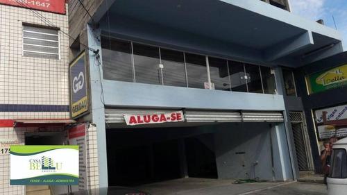 Imagem 1 de 4 de Salão Comercial Para Locação, Belém Estação, Francisco Morato. - Sl0012