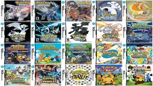 Imagen 1 de 1 de Todos Los Juegos De Pokemon De Nds + Emulador | Pc Digital
