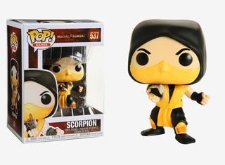 Funko Pop Games #537 - Mortal Kombat - Scorpion - Original !