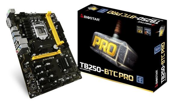 Kit Pentium G4560 + Biostar Tb250-btc Pro 12 Pcie + 8gb Ddr4