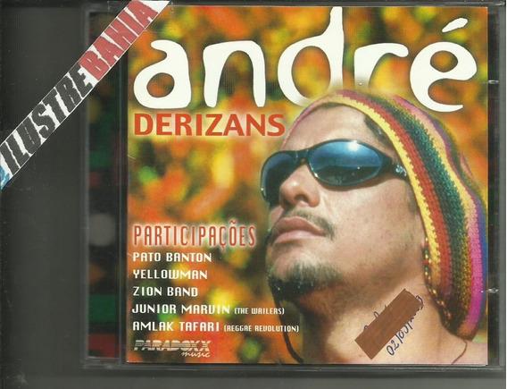 Cd André Derizans 1998 Reggae + Participações