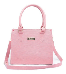 Bolsa Kit Com 3 Bolsas Feminina Pequena+carteira Ref: A