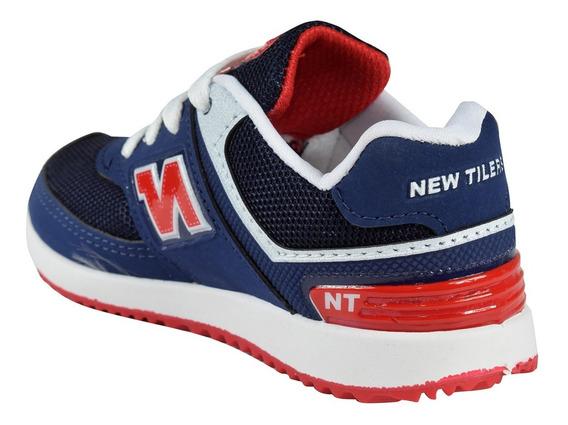 Zapatillas Niñas Niños Cómodas 22 Al 26 Marca New Tilers Acc