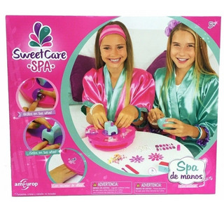 Sweet Care Spa De Manos Uñas Musical - Planet Toys