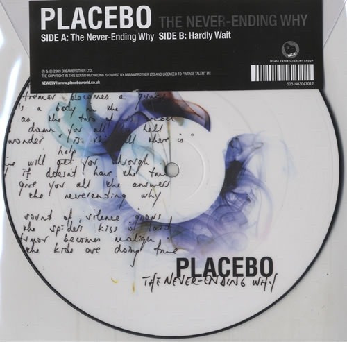 Placebo The Never-ending Why Picture Disc