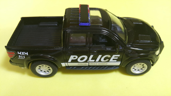 Pick-up Ford F-150 Police Car. Escala 1.38.made China 11cm.