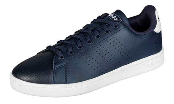 Tenis adidas Advantage Azul Marino-blanco For Men F36430