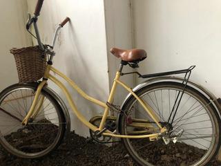 Bicicleta Playera Estilo Inglesa