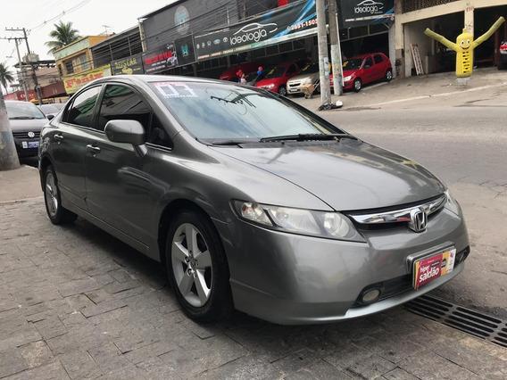 Honda Civic 2007 Automatico Com Gnv
