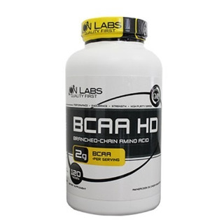 Bcaa Hd Ion Labs 120 Tabletes - 1g De Bcaa Por Tablete
