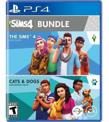 Sims 4 Bundle Gatos Y Perros - Ps4 Fisico Nuevo & Sellado