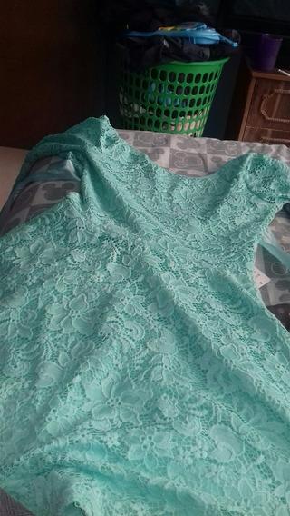 Vestido Verde Pistache