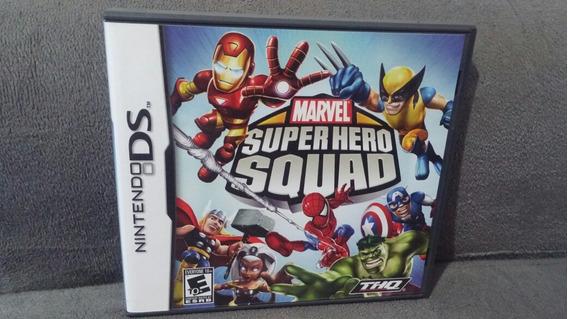 Marvel Super Hero Squad Nintendo Ds Completo