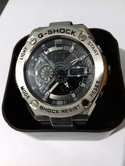 Relógio Sh Watch Metal Ajuste Ponteiro Digital
