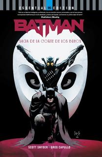 Dc Essential Edition: Batman: Saga De La Corte De Los Buhos