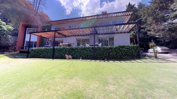 Increible Residencia En San Lorenzo Acopilco A La Venta (mc)