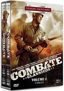 Coleção Combate Clássicos Vol. 1 - 2 Dvds Filme Ação