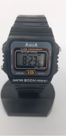 Relogio Presidente Bolsonaro Aqua Mod. Aq-37 Hd Prova D´agua
