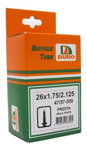 Camara Bicicleta Duro Rod 26 X 1.75/ 2.125 Mtb Presta / Auto