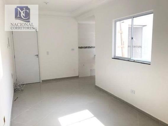 Apartamento Com 2 Dormitórios À Venda, 44 M² Por R$ 230.000,00 - Jardim Utinga - Santo André/sp - Ap8960