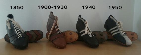 Coleccion Botas Botines Futbol Años 1850 1900 1950... adidas